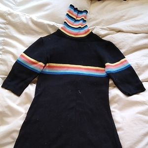 UNIF Relly Rainbow dress - size small